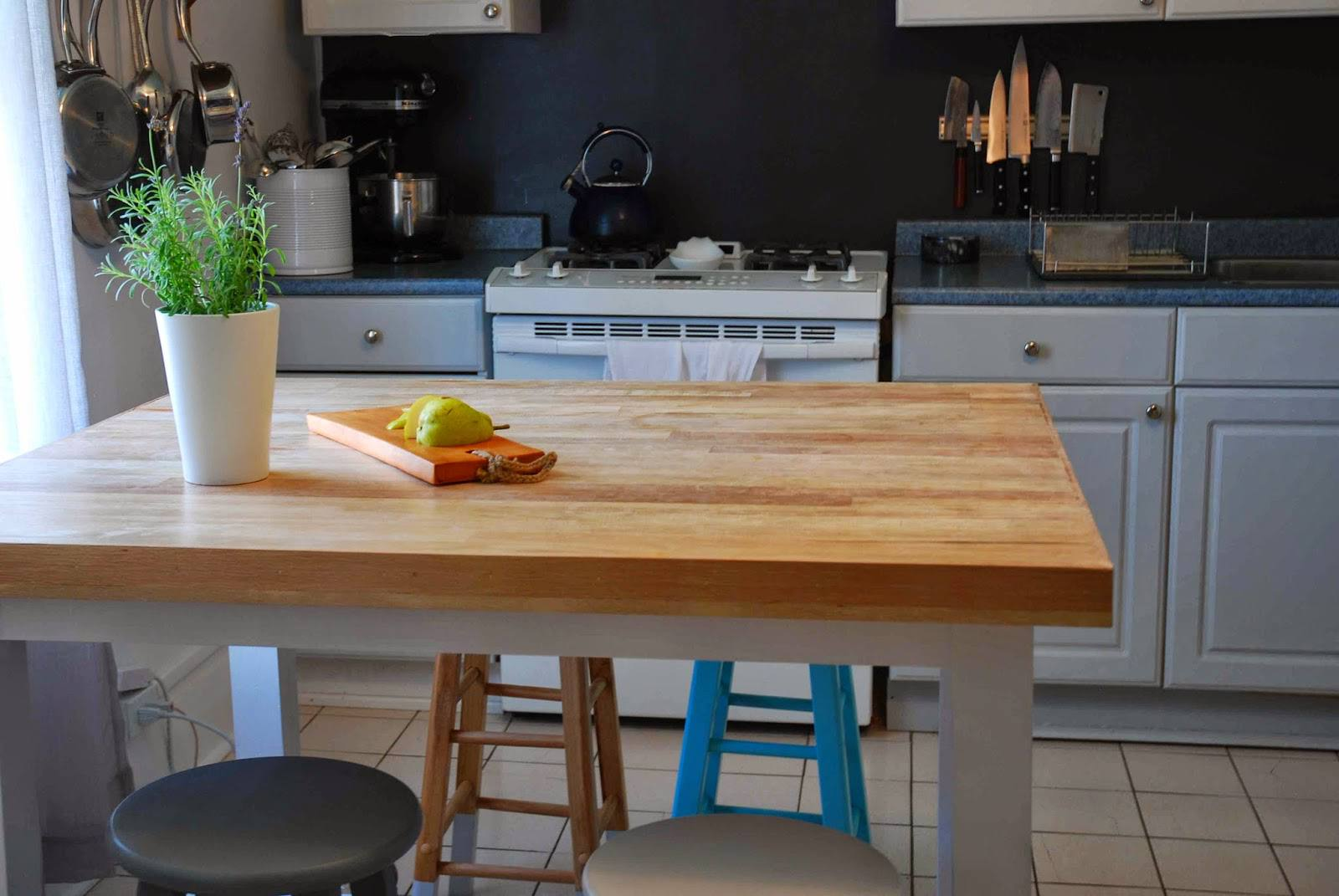 diy rolling kitchen island best way to clean wood cabinets in 15 free plans a topped with hardwood flooring