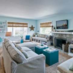 Beach Theme Decorating Ideas For Living Rooms Black And White Curtains In Room 20 Beautiful House