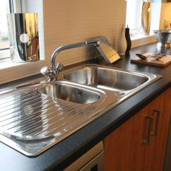 Brown Kitchen Sink Stand Alone Is A Drainboard Right For Your