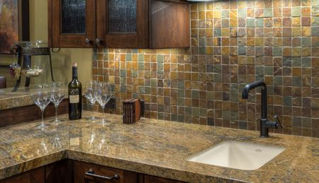 kitchen back splash design stores diy backsplash ideas slate 2 tumbled mosaic
