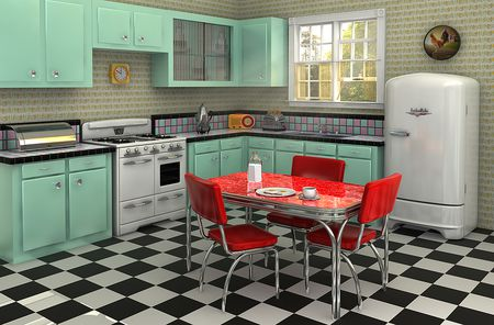 kitchen linoleum average cost of cabinets what to know about flooring checkerboard
