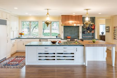 kitchen countertops home depot backsplash glass tile 18 that are surprisingly fresh green in traditional white