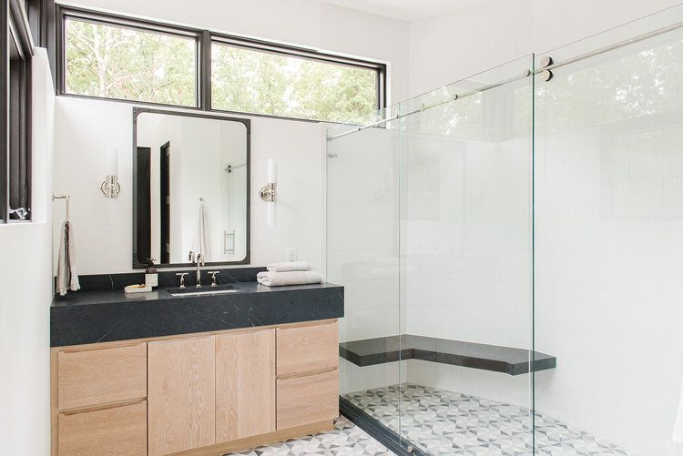 Small Bathrooms Brimming With Style And Function