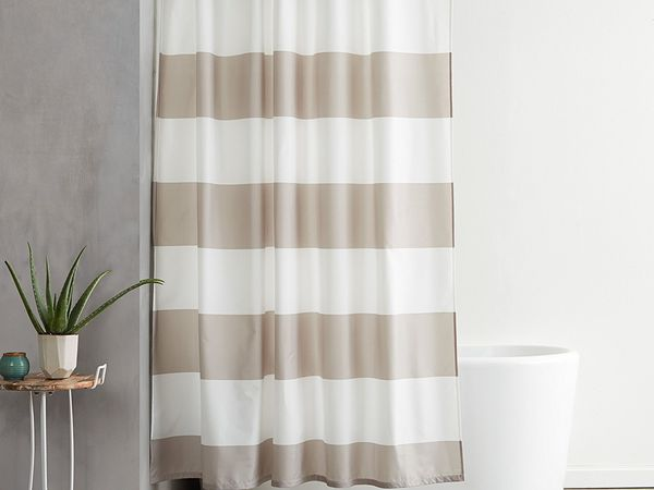 standard shower curtain size and types