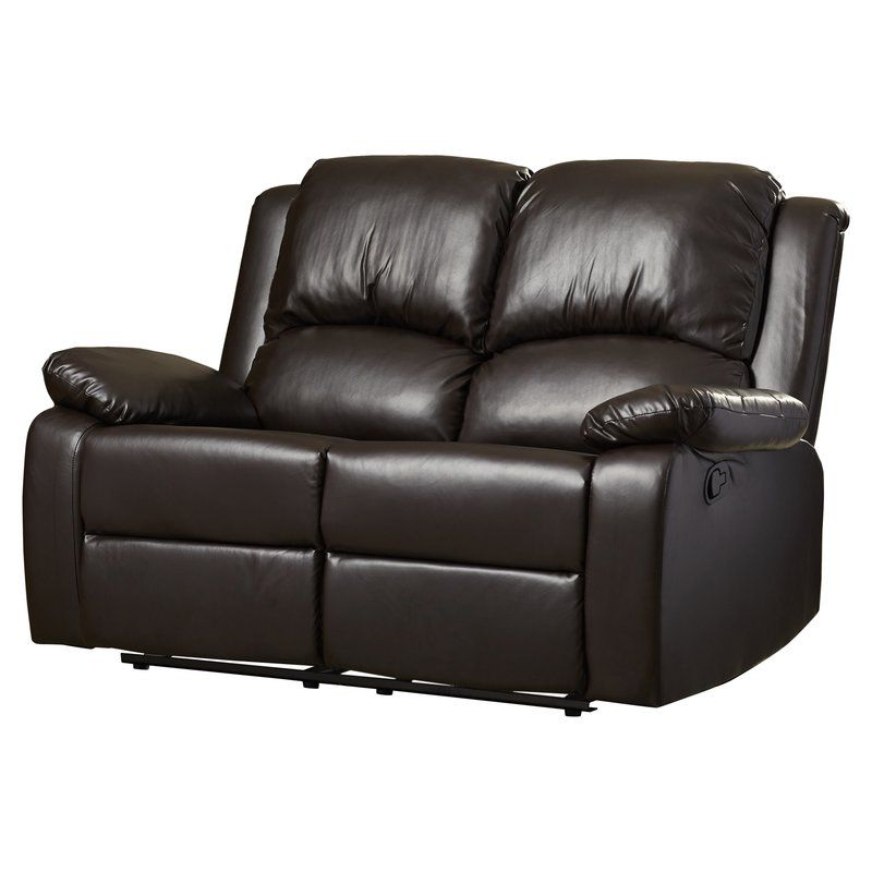 genuine leather sofa and loveseat pottery barn turner the 7 best reclining loveseats of 2019 runner up overall red barrel studio tilson