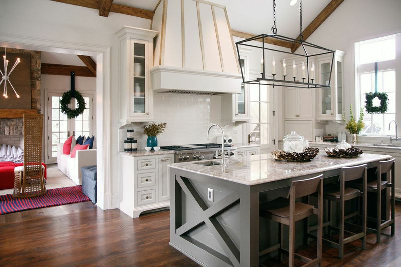 Get Outlets Out of Sight on the Kitchen Island