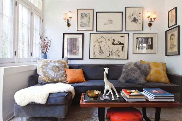 big sofa small living room bookcase ideas decorating spaces 7 outdated rules you can break