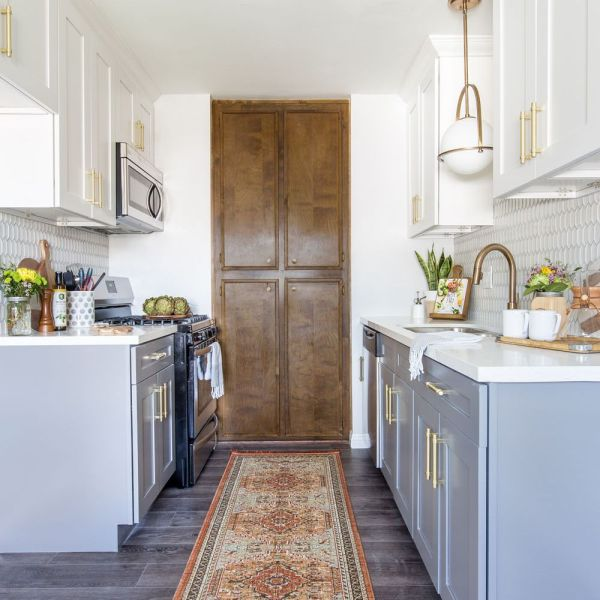 20 White Top Gray Bottom Kitchen Cabinets Pictures And Ideas On