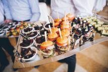 Miniature Food Catering Ideas Weddings