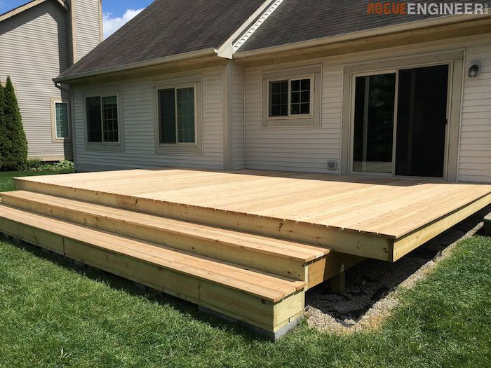 9 free do it yourself deck plans