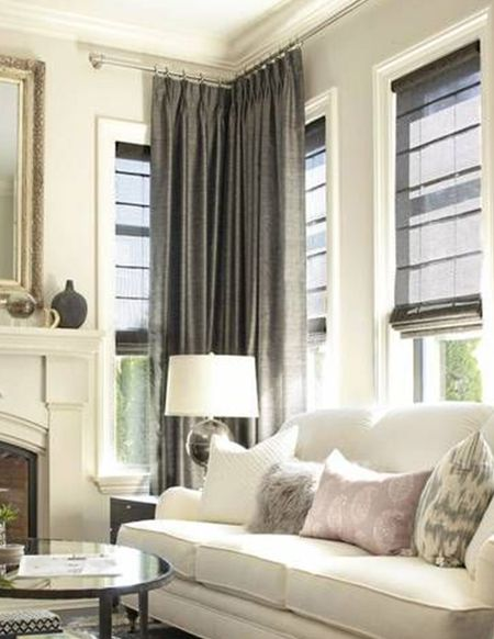 window treatment ideas for living room layout with tv and fireplace treatments every in the home