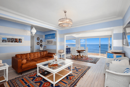 beach theme decorating ideas for living rooms english style small room 20 beautiful house beachy with striped walls