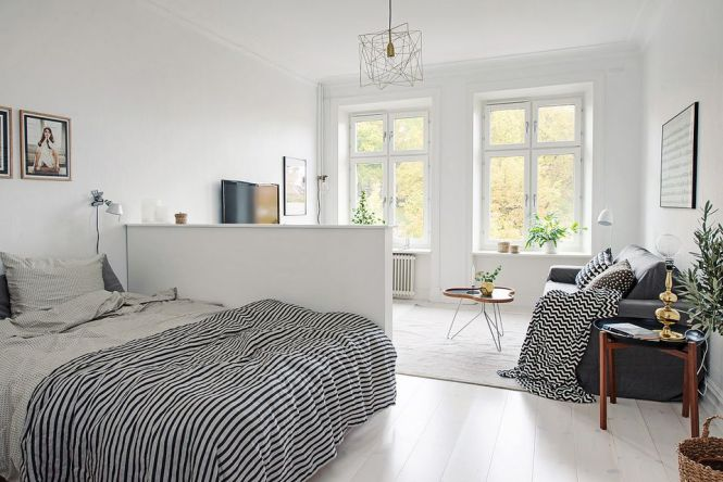 25 Ways To Create A Bedroom In Studio Apartment