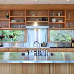 Shelves For Kitchen Under Cabinet Lighting Kitchens With Open Shelving Pictures And Advice