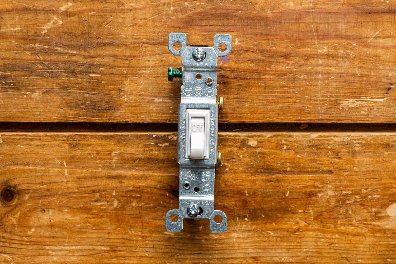 hight resolution of single pole switch