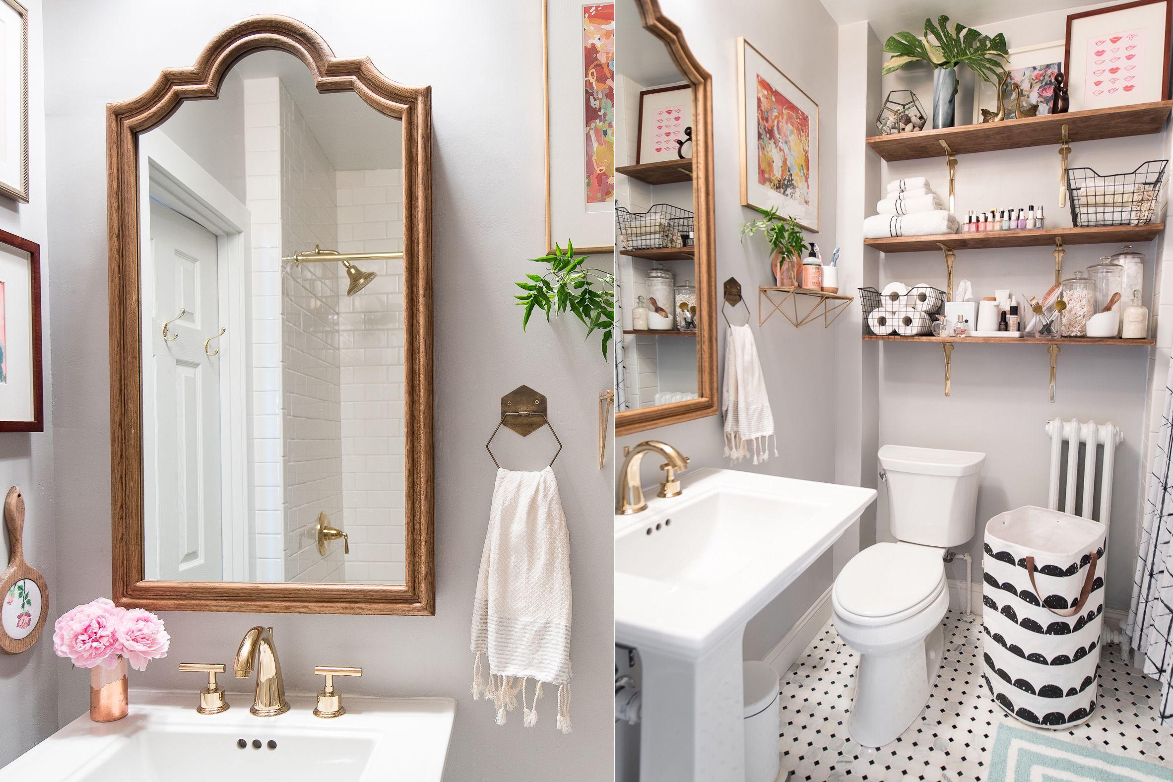 21 small bathroom decorating