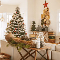 Decorate Small Living Room For Christmas Makeover With Wood Accent Wall 17 Decorating Ideas Spaces How To A Theme