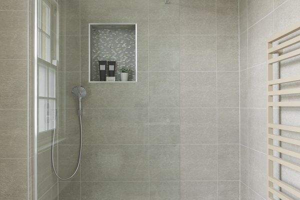 how to install a tile over shower base