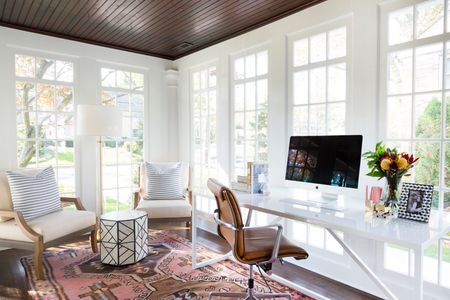 sunroom living room examples 16 decor ideas with an office and vintage rug