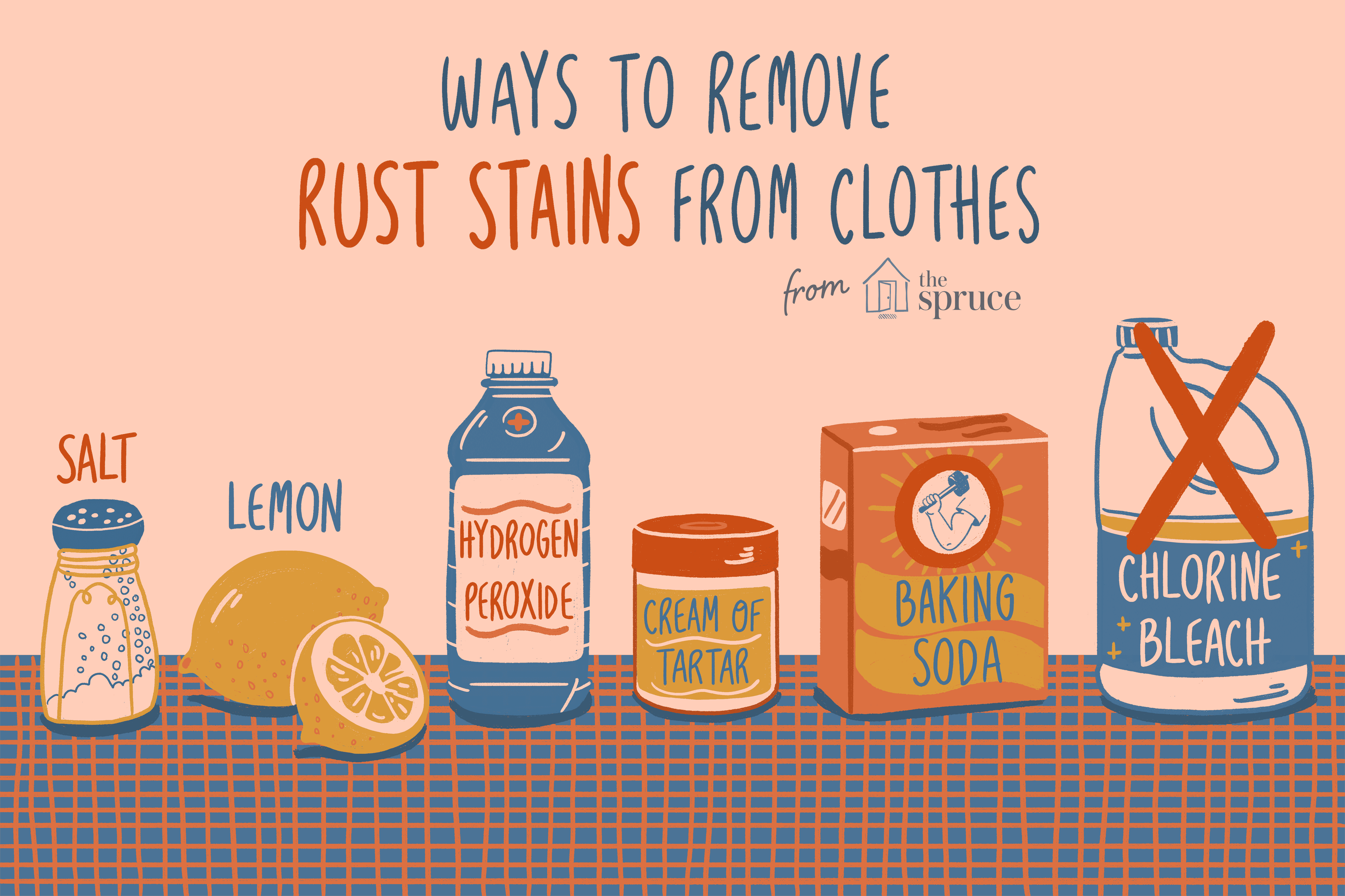 getting rust stains out of carpet