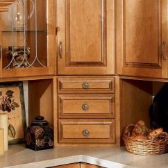 Kitchen Base Cabinet Pull Outs Lantern Pendant Light For Corner Solutions