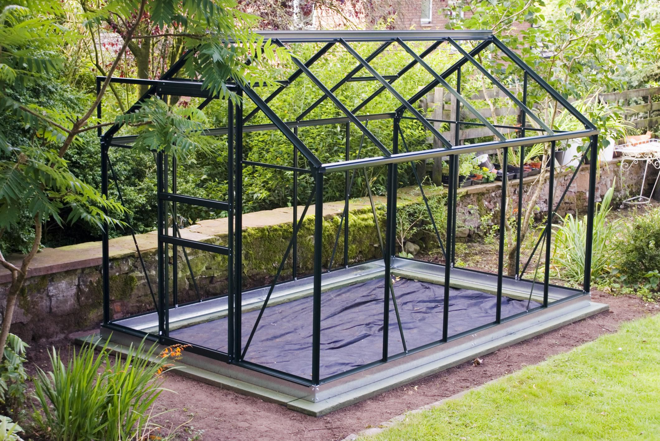 4 Frame Material Options for a Greenhouse
