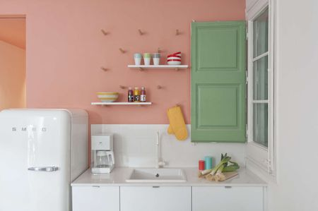 paint colors kitchen best rated appliances 26 ideas you can easily copy green and pink