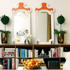 Living Room Decorating Ideas Picture Frames Cushions For 16 Stylish Ways To Decorate With Mirrors