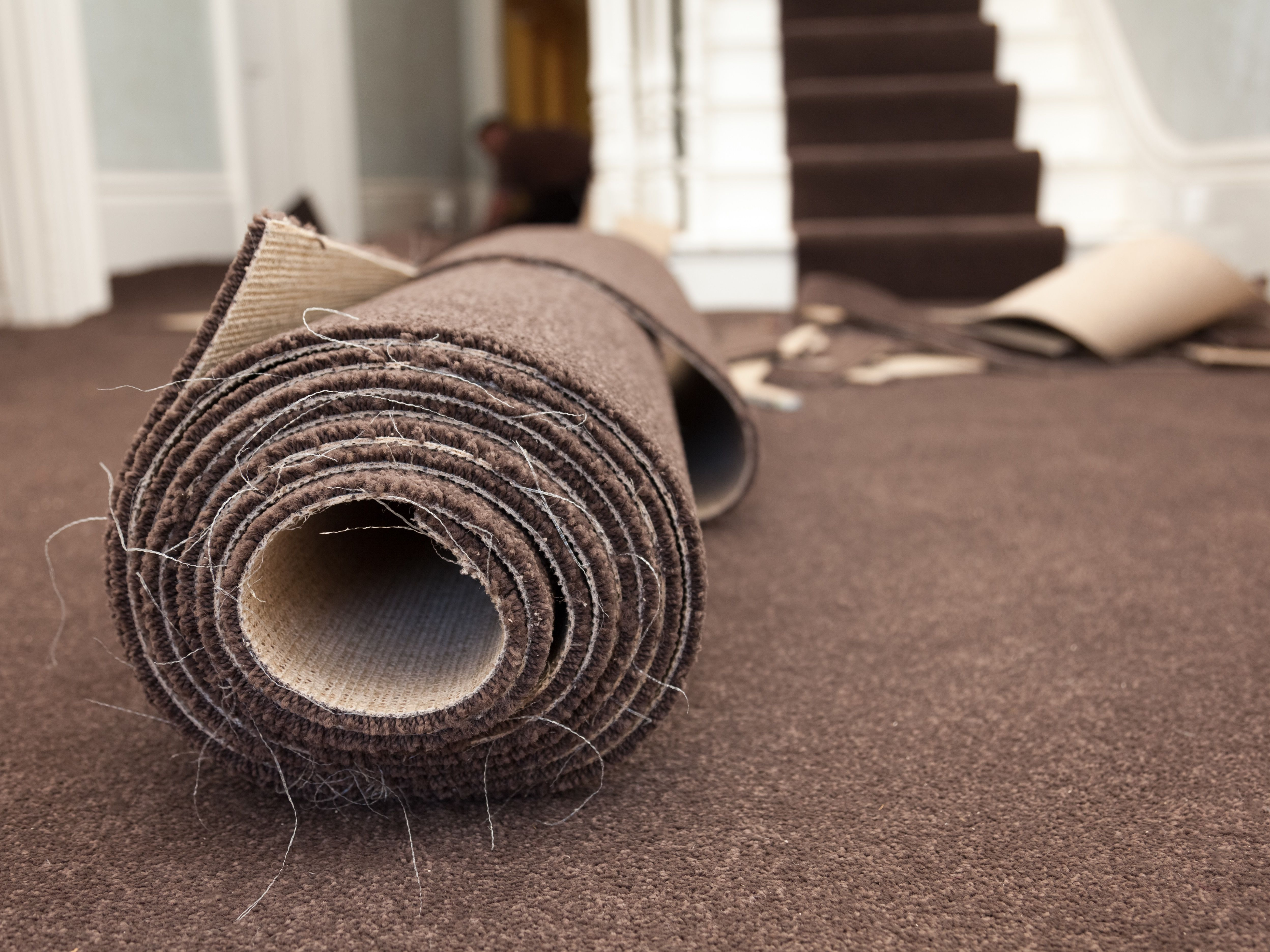 How To Install New Carpeting Over Old Carpeting | Low Pile Carpet For Stairs | Wool | Carpet Wrapped | Hallway | Bedroom | High End