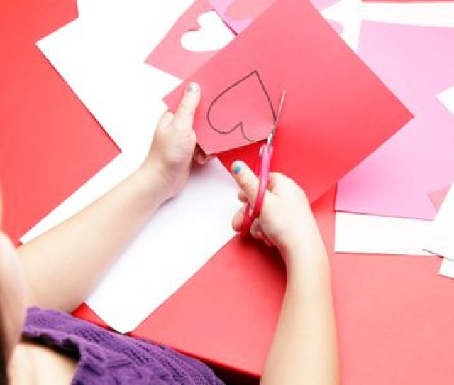 Cutting Out Heart Shape