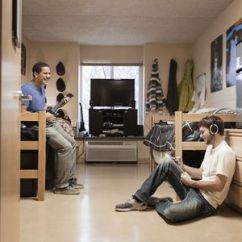 Clean Living Room Stone Accent Wall In How To Deep Your A Dorm Quickly