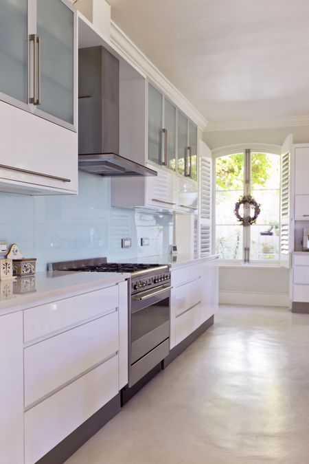 glass kitchen backsplash one handle faucet what is a sheet baby blue