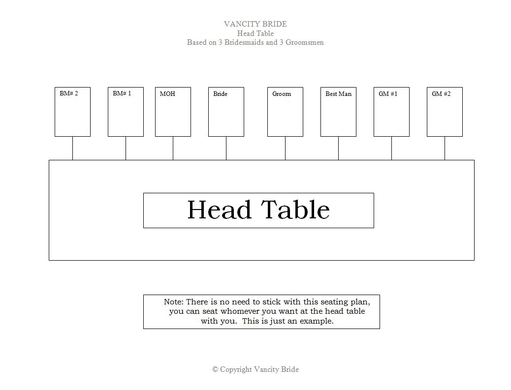 hight resolution of a head table seating chart plan for a wedding