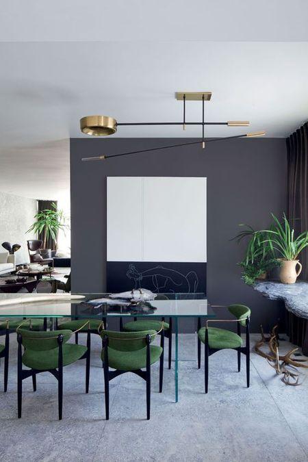 25 gray dining room