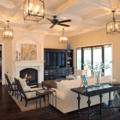 Hanging Light Fixtures Living Room Yellow And Grey Decorating Ideas 15 Beautiful Lighting With Multiple Ceiling Lights