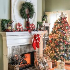 Decorations Ideas For Living Room Home Depot Paint Colors Rooms 21 Beautiful Ways To Decorate The Christmas Decorated