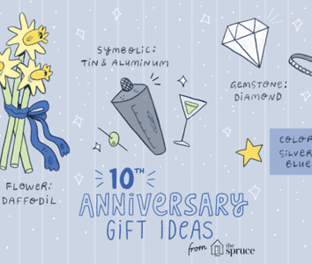 Gift Ideas For A Th Wedding Anniversary