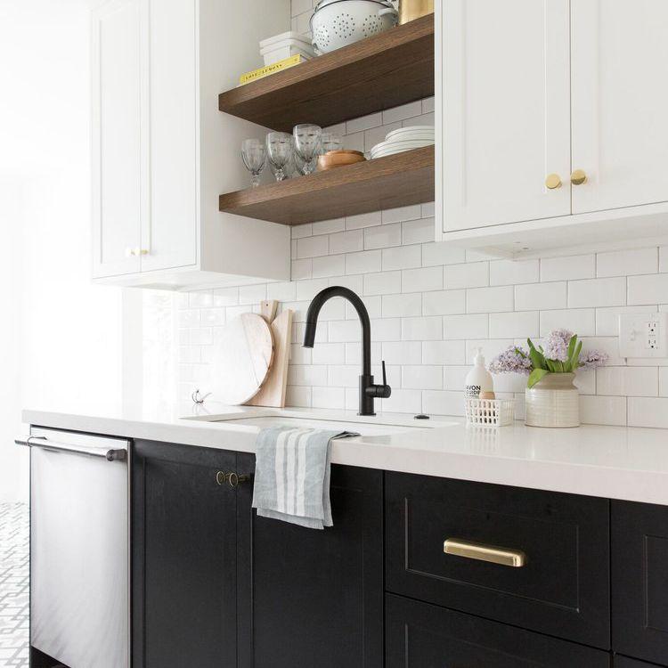 10 beautiful open kitchen shelving ideas