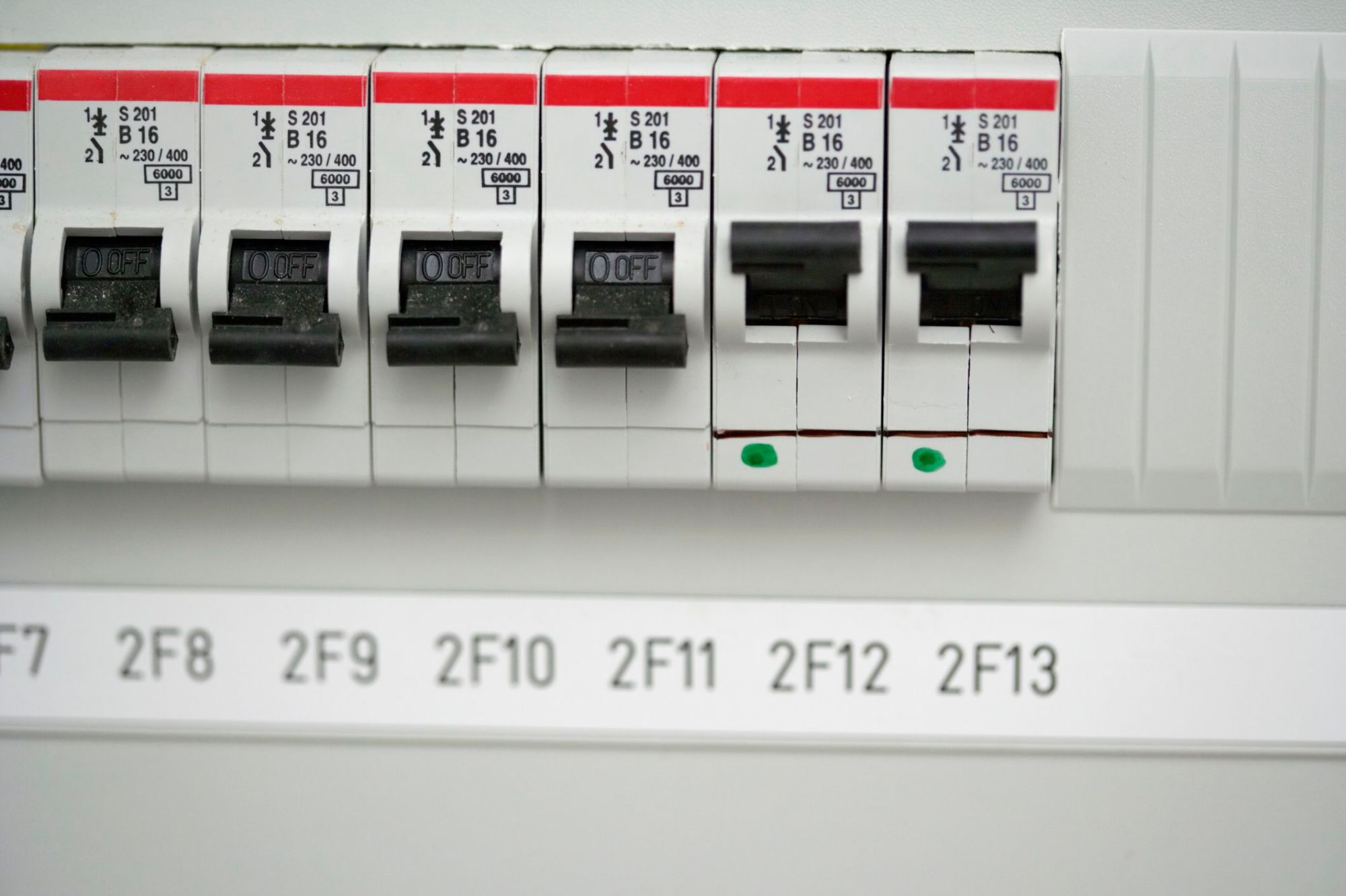 hight resolution of painted in house fuse box