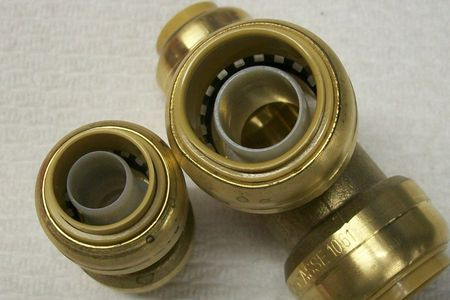 No Solder Copper Fittings