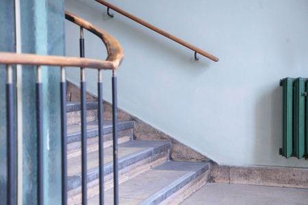 Stair Railing Building Code Summarized   Diy Curved Stair Railing   Spiral Staircase   Glass   Staircase Makeover   Stair Case   Railing Ideas