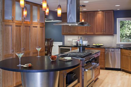kitchen cooktops custom cabinets online island planning help with cooktop and vent hood