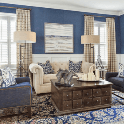 Brown Living Room With Blue Accents Decor Ideas For Rooms Transitional