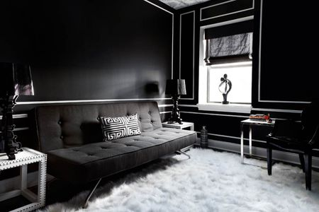 modern interior design living room black and white european furniture 20 gorgeous color schemes for every taste jet danielle colding