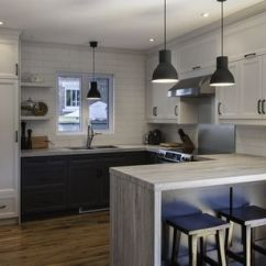 Kitchen Laminate Under Cabinet Lighting 10 Kitchens With Unbelievable Countertops Waterfall Countertop