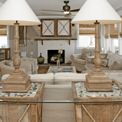 Beach Inspired Living Rooms White Room Side Table 20 Beautiful House Ideas
