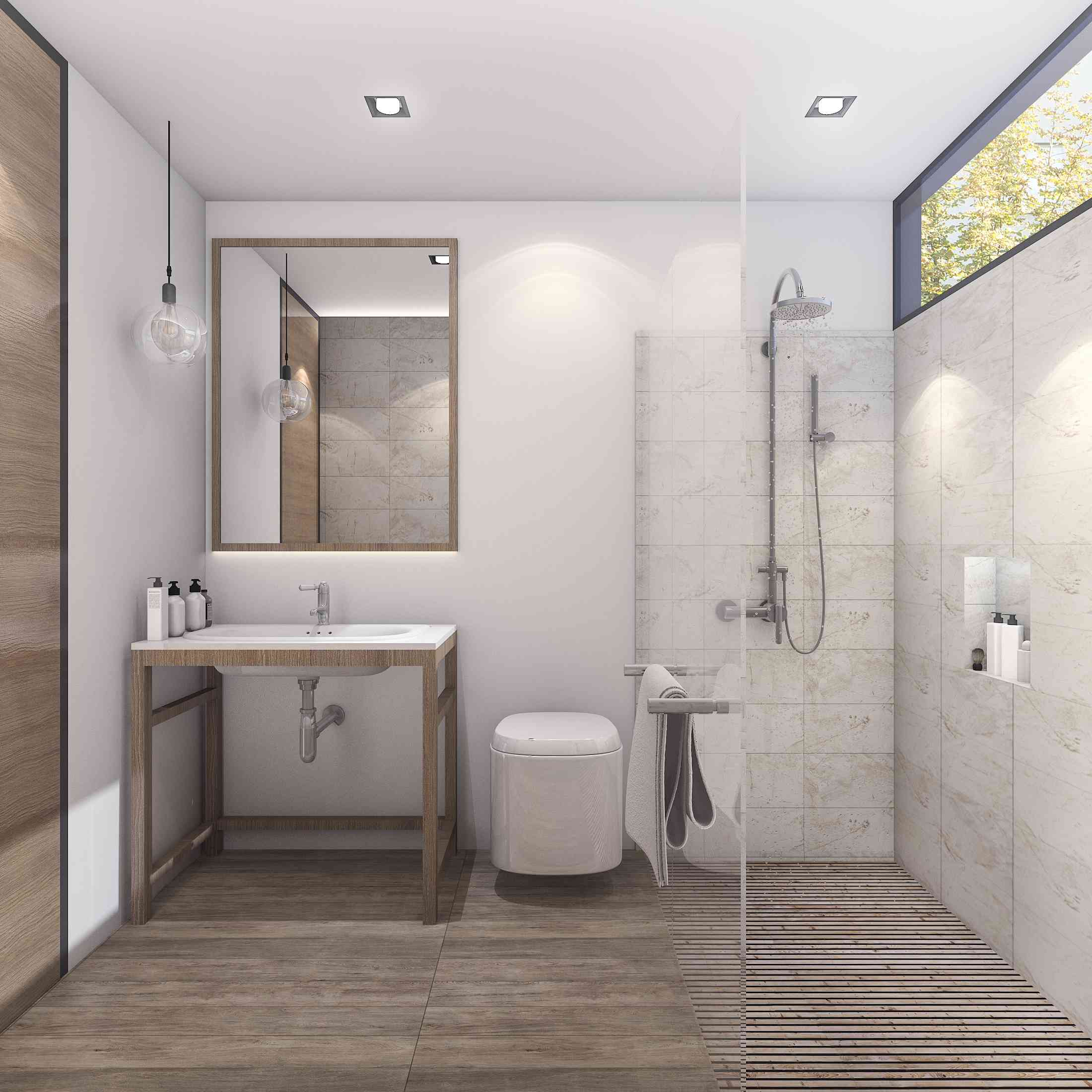 5 types of bathroom lighting