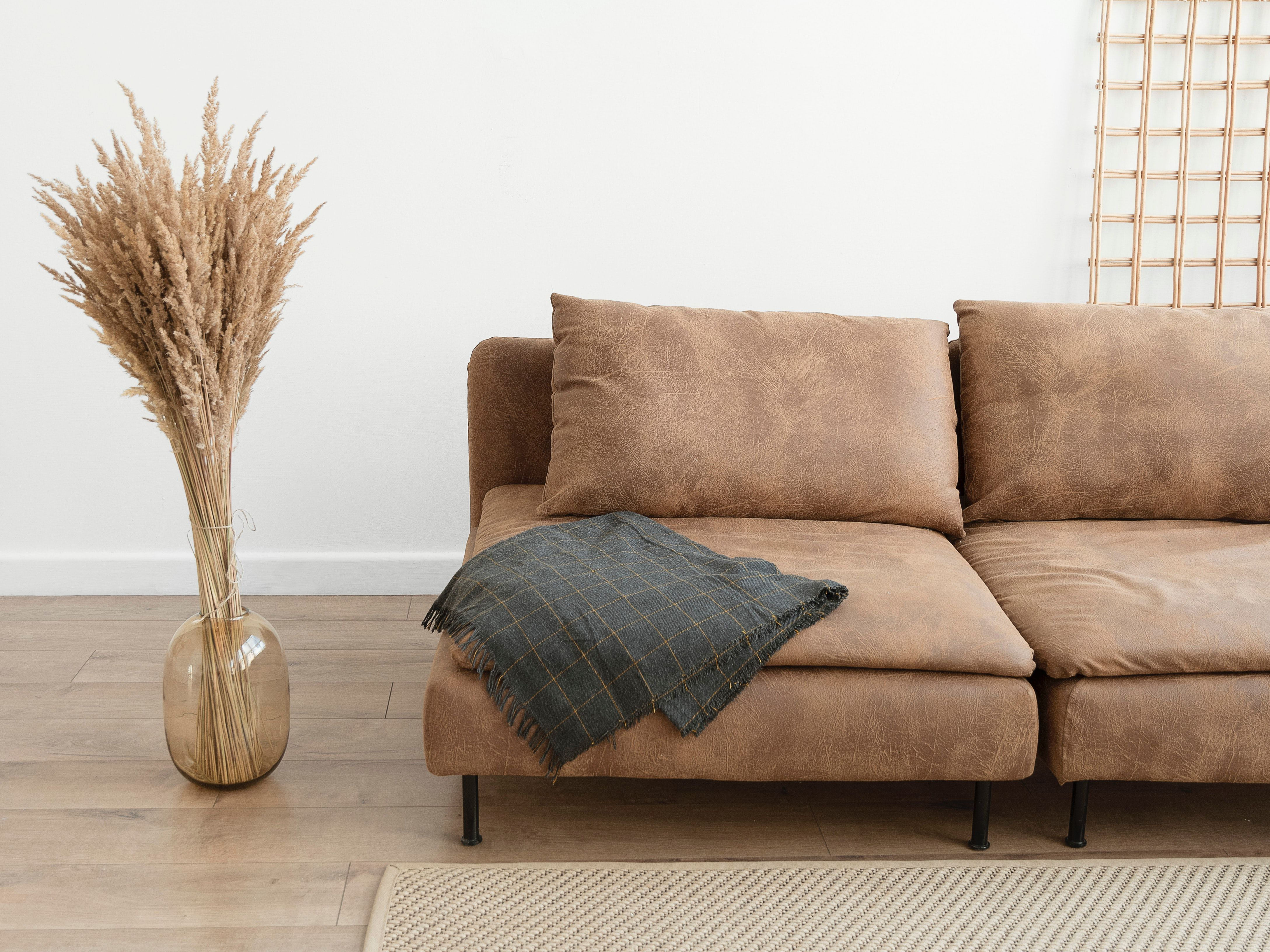 how to clean a suede couch