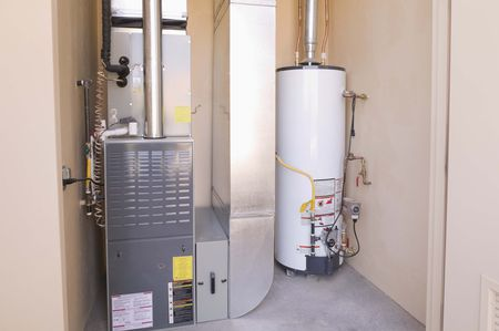 an electronic ignition furnace