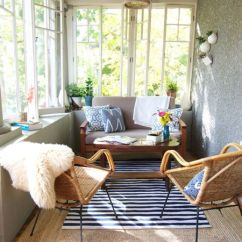 Sunroom Living Room Drapes Pictures 16 Decor Ideas With Small Couch And Chairs